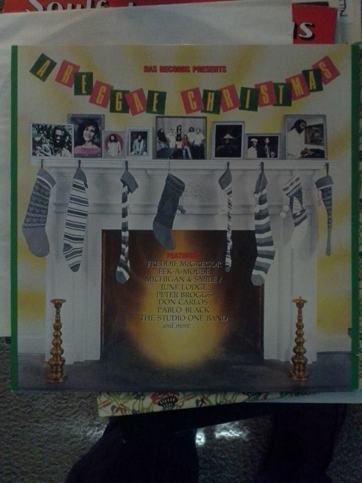 a reggae christmas vinyl