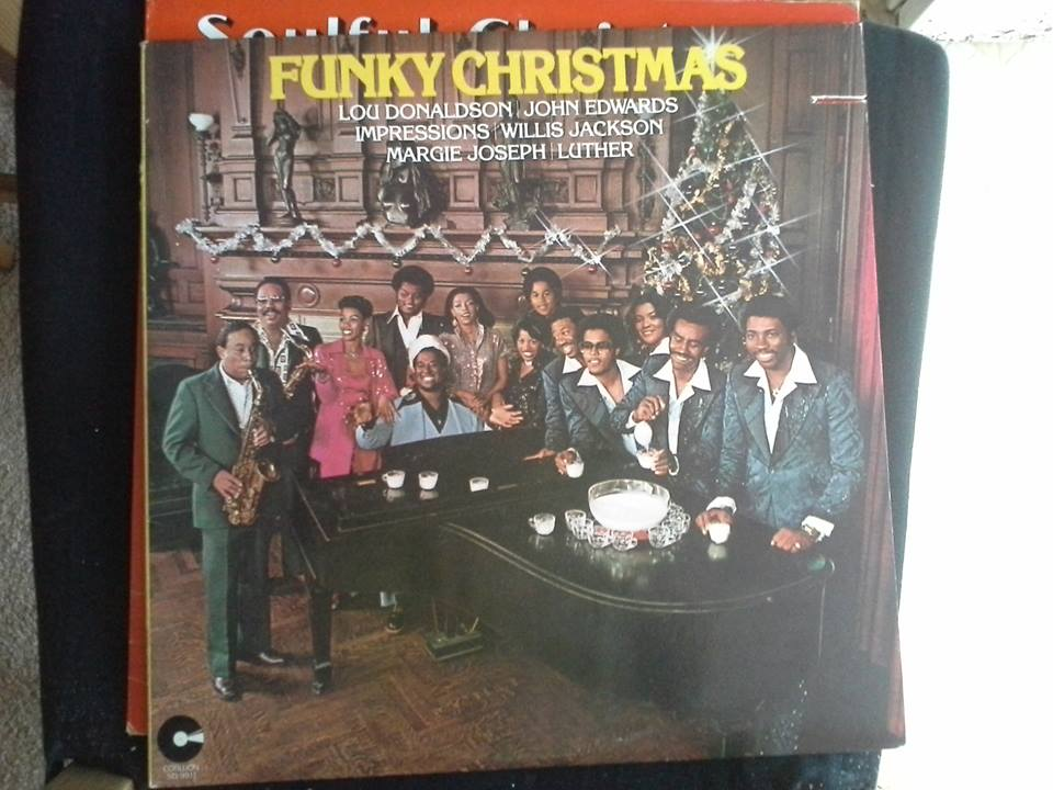 funky christmas on vinyl