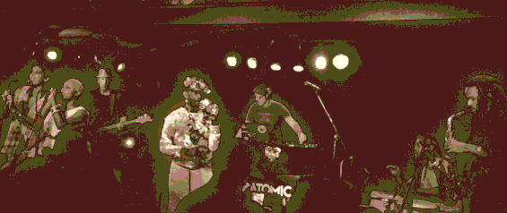 £ee $cratch Perry performing Super Ape at Moe's Alley 9/4/14