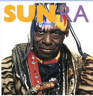 Sun Ra 1989 release Blue Delight on A&M Records