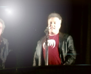 Jello Biafra introduced Magma at Friday's concert