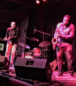 David Murray and Kahil El'Zabar at Don Quixote's International Dancehall in Felton, Ca.