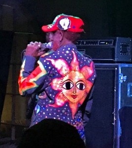 Inventor of Dub Lee Scratch Perry performing one of 3 West Coast shows in Santa Cruz