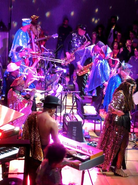 The Sun Ra Arkestra Performing at SF Jazz center's summer festival